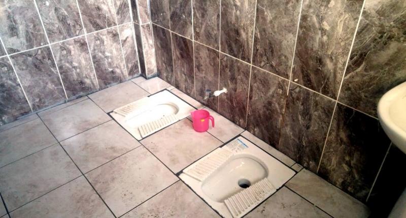 Tokat Belediyesi'nin yaptığı tuvaletler alay konusu oldu