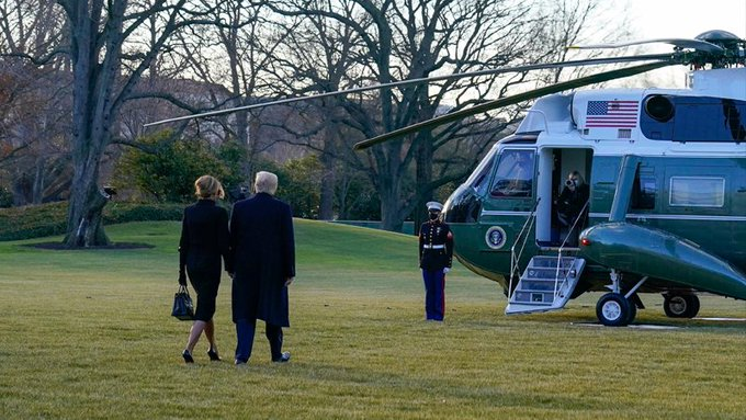 Trump Beyaz Saray'dan ayrıldı, Biden hayata geçirecekleri kararları açıkladı