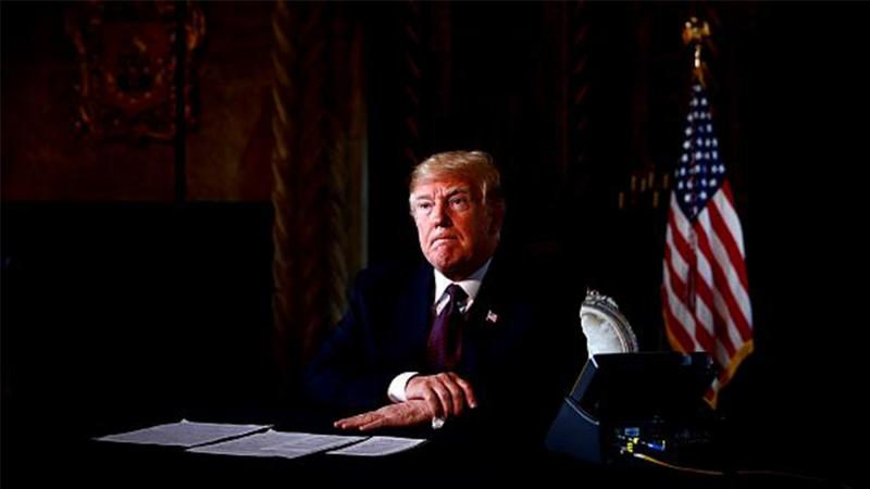 Trump: 'Bize saldırı olursa İran'da 52 hedef belirledik, çok sert ve hızlı olarak vuracağız'