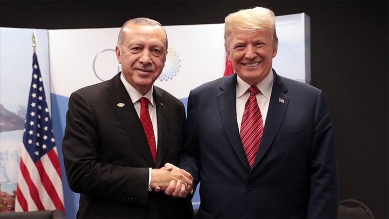 Trump: Erdoğan 13 Kasım'da konuğum olacak