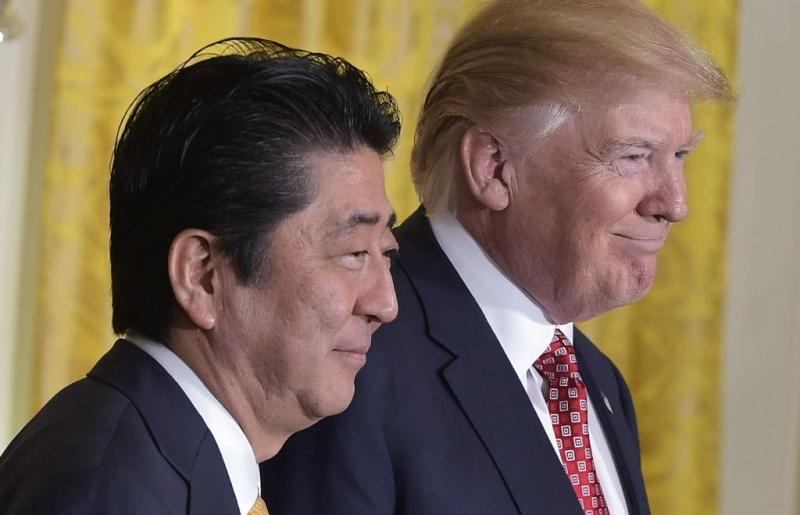 Trump yanlışlıkla Putin yerine Abe'nin doğumgününü kutladı