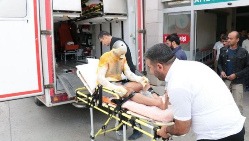 Tuz ocağında patlama: 3 işçi yaralandı