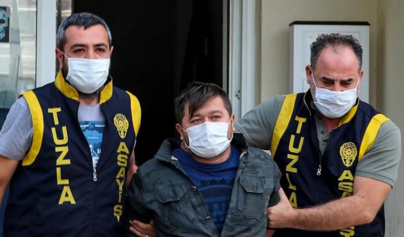 Tuzla'da polisleri tehdit eden zanlı adliyeye sevk edilirken de tehdit etti: 'Görüşeceğiz'