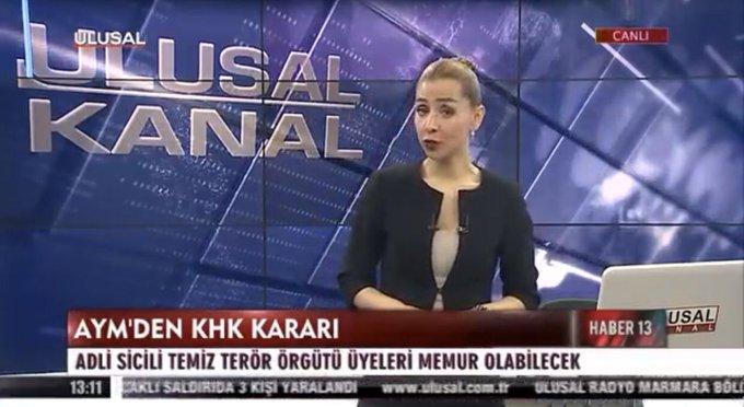Ulusal Kanal'ın haberi tartışma yarattı:  'Adli sicili temiz olan terör örgütü üyesi'