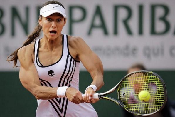 Williams'la maça çıkan Rus tenisçi Vitalia Diatchenko kaslarıyla gündem oldu