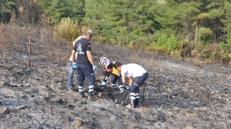 Yaktığı otların ateşi ormana sıçrayınca hayatını kaybetti