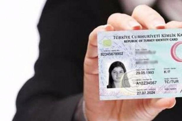 Yeni kimlik kartının ücreti belli oldu