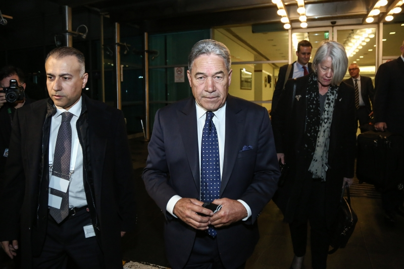 Yeni Zelanda Dışişleri Bakanı Winston Peters, İstanbul'a geldi