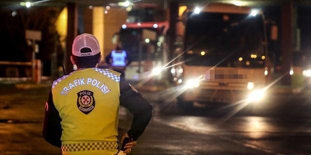Yolcu otobüslerinde sivil polis denetimi başladı