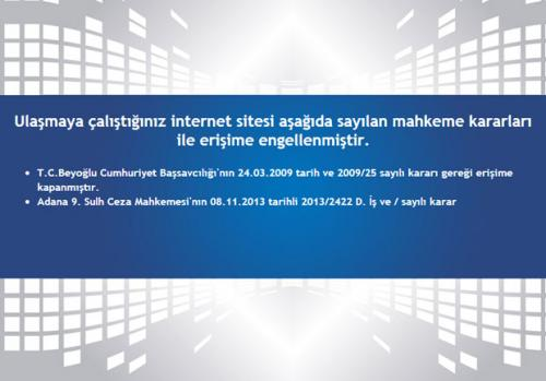 Dailymotion mahkeme kararıyla erişime kapatıldı!