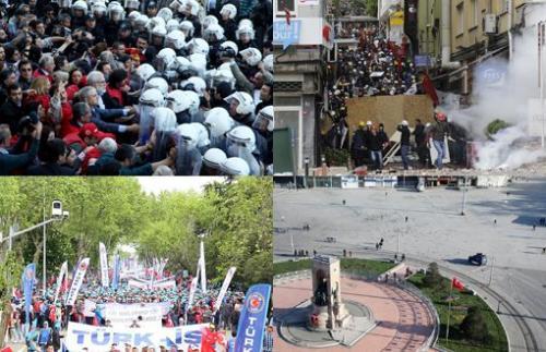 İstanbul'da Binlerce Yaralı, 266 Gözaltı!