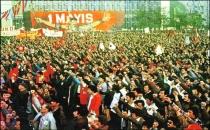 1 Mayıs'ta Taksim'i yasaklamak suçtur!