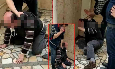 10 yaşındaki çocuğu taciz eden şahıs darp edildi