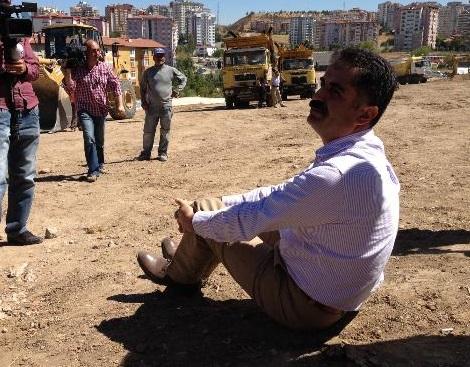 CHP'li vekillerden ODTÜ'de oturma eylemi!