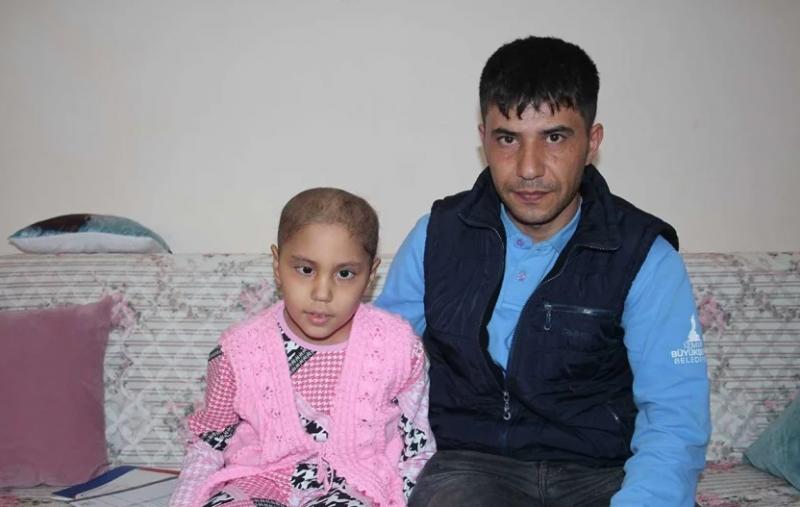 7 yaşındaki Rüya'nın tedavisi için para toplanmasına İzmir Valiliği'nden izin çıkmadı