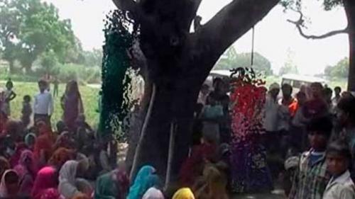 Tecavüz edip ağaca astılar!