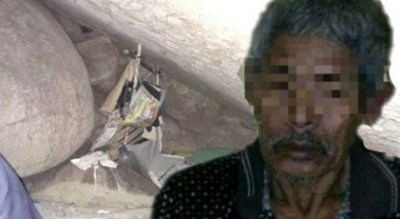 83 yaşındaki bir kişi, 15 yıl boyunca bir kızı mağarada hapsetti