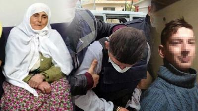 92 yaşındaki kadına tecavüz edip öldürdü