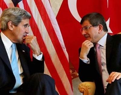 Kerry, Davutoğlu'nu Paris'e davet etti!