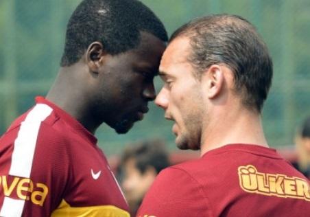 İşte Sneijder ve Eboue kavgasının perde arkası!