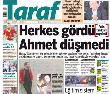 Neşe Düzel Taraf'ın o manşeti için özür diledi!