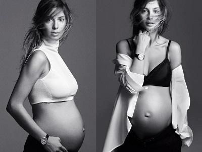 Tuba Ünsal'dan hamile pozu! 11 kilo aldım!