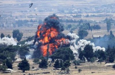 ABD kendi üssünü bombaladı