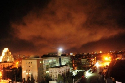 ABD Suriye'yi vurdu! Gözler Rusya'da