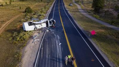 ABD'de otobüs kazasında 4 kişi öldü