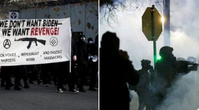 ABD'de protesto: Biden'ı değil, intikam istiyoruz