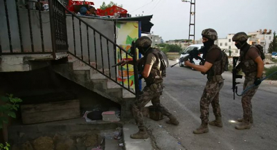 Adana'da PKK operasyonu: 17 şüphelinin evine baskın