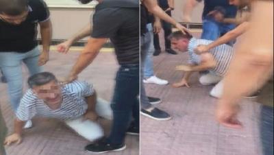 Adana'da sokak ortasında cinsel organını çıkaran kişi darp edildi!