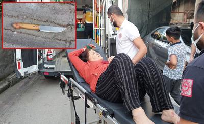 Adana'da tartıştığı annesini bıçakladı