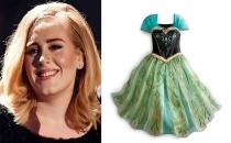 Adele, oğluna Prenses Anna'nın elbisesini giydirdi!