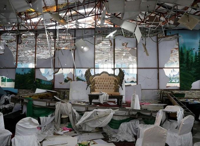 Afganistan'da düğün salonunda patlama: 63 ölü 182 yaralı