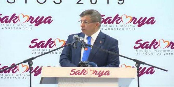 Ahmet Davutoğlu: Terör defterini açarsak bizi eleştirenler insan içine çıkamazlar
