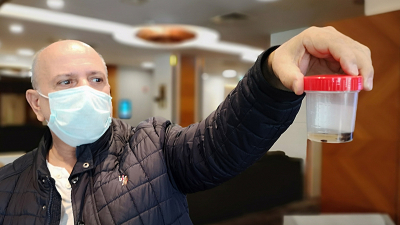 Akciğerine kaçan çam fıstığı 32 yıl sonra alındı