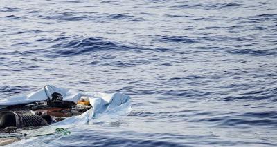 Akdeniz'de göçmen teknesi battı; en az 43 kişi hayatını kaybetti