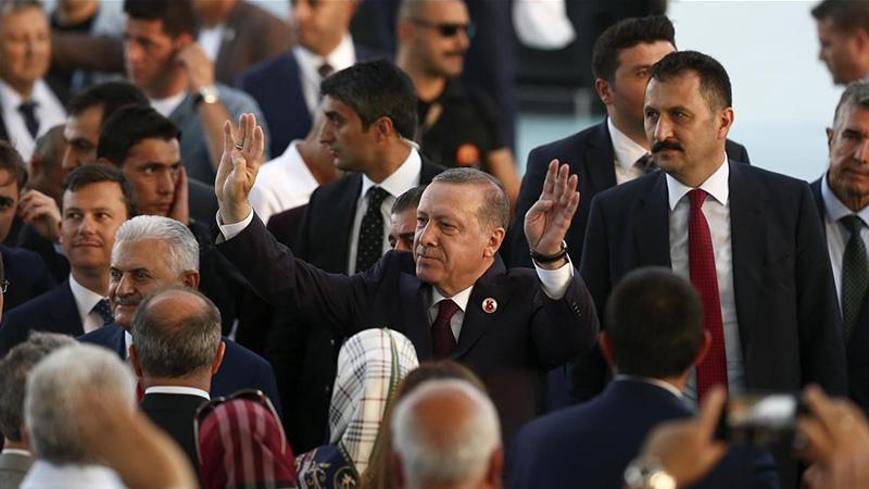 AKP 18. yılını kutluyor