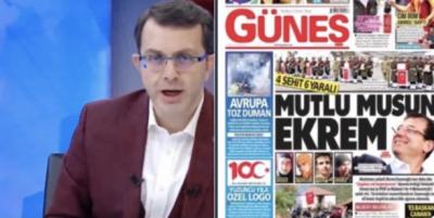 AKP Güneş Gazetesi'ni kınadı! Bu gazetecilik değildir