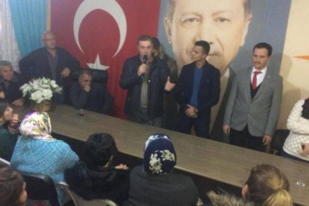 AKP İlçe Başkanı: Hırsızımızın yanında yer alacağız!