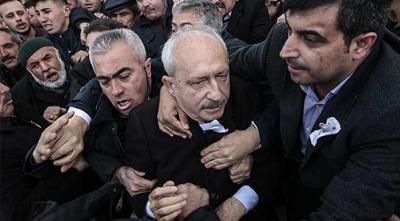 AKP Kılıçdaroğlu'na saldırıyı araştırma önergesinİ reddetti