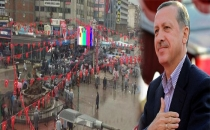 AKP mitingine Van'dan katılım olmayınca...