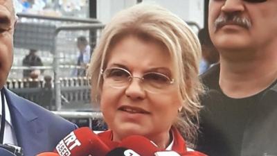 AKP'nin İstanbul mitingine Tansu Çiller de katıldı