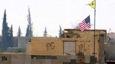 Akşam: Kimliği belirsiz helikopter YPG'yi vurdu