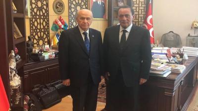 Alaattin Çakıcı: Mensup olduğum camianın başkanı Devlet Bahçeli'yi ziyaret ettim