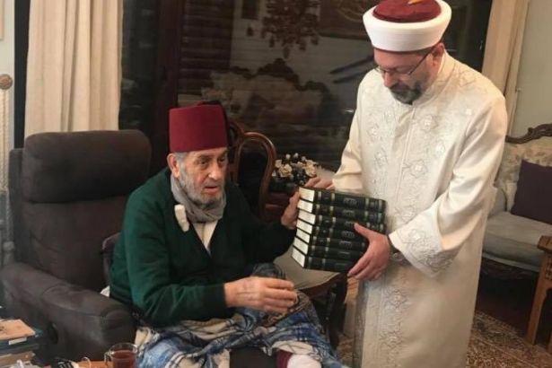Ali Erbaş, Kadir Mısıroğlu'nu ziyaret etti