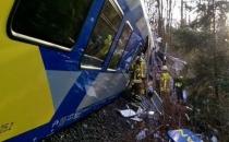 Almanya'da tren kazası: 4 ölü!