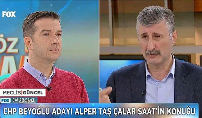Alper Taş: Kandile gittiğimi söylüyorlar, ispatlasınlar istifa ederim