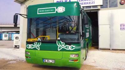 Ankara Belediyesi'nden Türkiye'nin ilk dönüştürülmüş elektrikli otobüsü